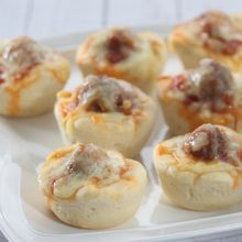 Manfaatkan Akhir Pekan dengan Membuat Pizza Cup Meatball Bersama Si Kecil
