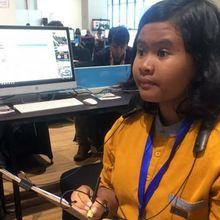 Temanku Lima Benua, Menggambar 2.500 Sketsa Selama Asian Para Games