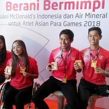Penghargaan Khusus untuk Atlet Asian Para Games 2018 Cabang Olahraga Renang