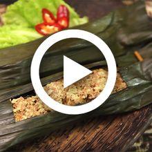 (Video) Pantas Makan Sampai Nambah Terus, Lauknya Pepes Tahu Daging Pedas nan Lezat Ini, Sih!