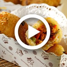 [Video] Bikin Ngiler! Ini Dia Resep Kroket Singkong Ayam Kari