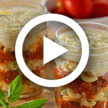 (Video) Resep Masak Makaroni In A Jar, Camilan Enak yang Bikin Si Kecil Ogah Jajan