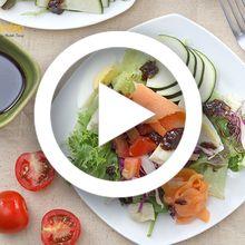 (Video) Resep Membuat Green Balsamic Salad, Salad Enak yang Bikin Perut Kenyang, Wajib Dicoba!