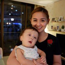 Jantung Putri Kecilnya Berlubang Sedalam 4,5 Mili, Joanna Alexandra: Apapun Keadaan Zio, Aku Syukuri