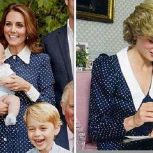 Kate Middleton Gunakan Gaun Mirip Milik Putri Diana dalam Ulang Tahun Pangeran Charles