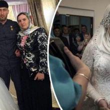 Gunakan Gaun Pengantin Nan Mewah, Gadis Ini Justru Murung dan Tersiksa di Pernikahannya