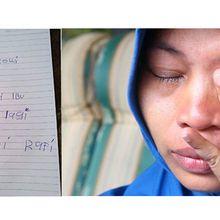 Tak Tahu Kasus yang Dialami Sang Ibu, Anak Baiq Nuril Tulis Surat untuk Presiden