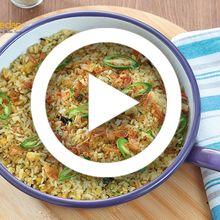 (Video) Resep Masak Nasi Goreng Kencur yang Mudah, Sederhana Tapi Nikmatnya Enggak Diragukan Lagi