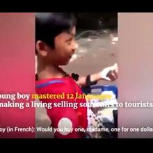 Viral, Seorang Anak Laki-Laki Asal Kamboja Ini Punya Kemampuan Berbicara 12 Bahasa