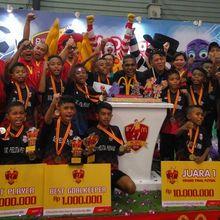 Berasal dari Keluarga Kurang Mampu, Anak-anak Ini Berhasil Jadi Tim Juara 1 MJFC 2018! Gigih dan Semangat!