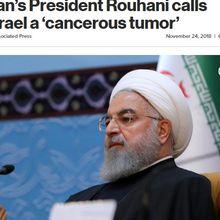 Presiden Iran Hassan Rouhani: Israel Itu Tumor Kanker Bikinan Barat
