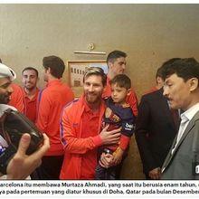 Kisah Murtaza Ahmadi, Bocah Afghanistan yang Dapat Malapetaka Setelah Bertemu Lionel Messi