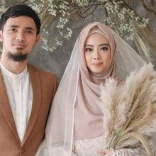 Tanpa Restu Orangtua, Lindswell Kwok dan Achmad Hulaefi Resmi Menikah