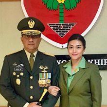 Jadi Istri Pejabat Tinggi TNI, Bella Saphira Cuma Pakai Jasa Rias Tetangga: No MUA!
