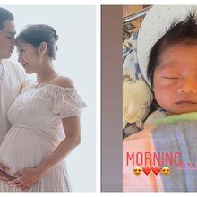 Putra Ardina Rasti dan Arie Dwi Andika Lahir, Namanya Telah Diungkap Sejak Kandungan 7 Bulan