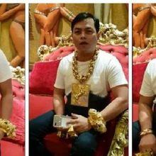 Pria Kaya Pakai Perhiasan Emas 13 Kg Setiap Hari, Dokter Sebut Dirinya Gila