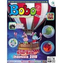 Film Keren 2018 di Majalah Bobo Edisi 36 (Terbit 13 Desember 2018)