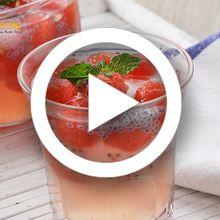 (Video) Resep Membuat Es Semangka Jeruk yang Mudah dan Segar, Dahaga Pasti Langsung Hilang Seketika