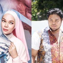 5 Hijab Segi Empat Bermotif Merek Artis, dari Ivan Gunawan Hingga Dewi Sandra