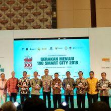 50 Kota/Kabupaten Terima Penghargaan dalam Program Smart City 2018
