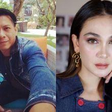 Fotonya Bersama Ariel NOAH Terpampang di Layar, Reaksi Luna Maya Jadi Perhatian Netizen