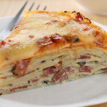 Resep Membuat Lasagna Crepes Mushroom yang Pasti Lebih Enak dari Restoran