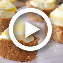 (Video) Resep Membuat Lemon Cheese Biscuit Pie yang Super Enak, Satu Aja Pasti Gak Cukup!