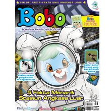 Stasiun Angkasa Luar di Majalah Bobo Edisi 41 (Terbit 17 Januari 2019)