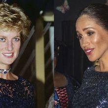 Meghan Markle Bangkitkan Kenangan Putri Diana Lewat Gaun Cetarnya