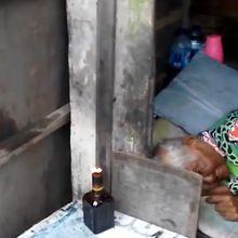 Bikin Haru, Nenek Ini Hidup di Gubuk Mungil dan Hanya Dirawat Bang Ben