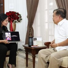 Bangga! Livi Zheng, Sutradara Perempuan Hollywood Asal Indonesia Temui Wapres RI Jusuf Kalla