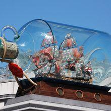 Rahasia Cara Miniatur Kapal Masuk ke Dalam Botol Kaca, Pernah Tahu?