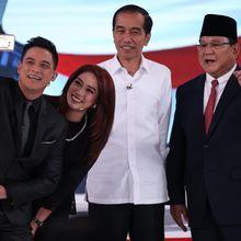 Debat Capres 2019: Lihat Foto-foto Jokowi Berhadapan Prabowo
