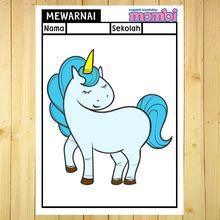 Yuk, Berkreasi Mewarnai Unicorn, Kuda yang Sering Muncul di Dongeng!