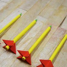 Meluncur Sangat Cepat ke Udara, Coba Buat Roket dari kertas, yuk!