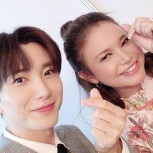 Akan Kolaborasi Bersama, Rossa Pamer Foto Bareng Leeteuk Super Junior, Bikin Iri!