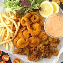 Resep Fried Seafood Platter Renyah Ala Resto Bisa Kita Buat Sendiri Di Rumah