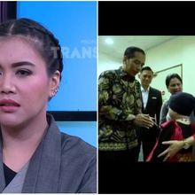 Tangis Denada Ceritakan Shakira Aurum Bertemu Presiden Jokowi, Kondisi Sedang Turun dan Bengkak Seluruh Tubuh