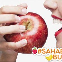 Jangan Lagi Dikupas, Mulai Saat Ini #SahabatBuah Harus Makan Apel Bersama Kulitnya untuk Cegah Kanker!