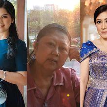 Beda Gaya Annisa Pohan dan Aliya Rajasa Saat Temani Ani Yudhoyono di Rumah Sakit