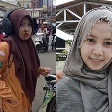 Viral Video Siswi Tabrak Jambret Demi Handphonenya, Ternyata Korban Ulang Tahun Hari Ini