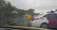 Video Kecelakaan di Tol Kanci Pejagan Ketika Ekspedisi Tol Trans Jawa