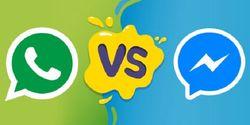 Aplikasi WhatsApp vs Facebook Mesenger, Lebih Populer yang Mana?