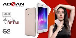 Kelebihan dan Kekurangan Advan G2, Hape Mirip iPhone yang Dijual Murah