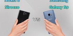 Perbandingan Samsung Galaxy S9 dan Nokia 8 Sirocco, Pilih Mana Ya?