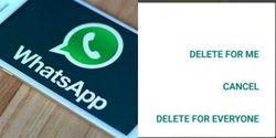 Tak Lagi 7 Menit, Hapus Pesan WhatsApp Kini Bisa Berdurasi 1 Jam Lebih
