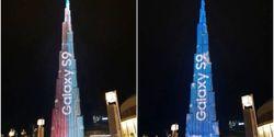 Peluncuran Samsung Galaxy S9 Diwarnai Pertunjukkan LED Cantik