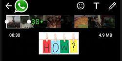Cara Membuat Durasi Video WhatsApp Story di Atas 30 Detik, Wajib Tahu