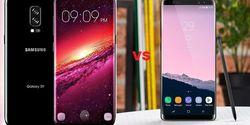 Perbandingan Spesifikasi Samsung Galaxy S9 Plus dan Galaxy Note 8