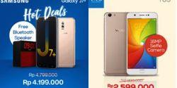Samsung Galaxy J7 Plus dan Vivo Y69 Diskon Sampai Rp 600 Ribu